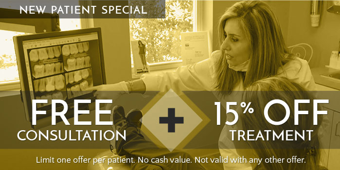 Free consultation new patient special