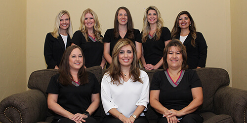 Plano dental team at Parkway Vista Dental