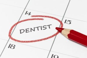 dentist on calendar
